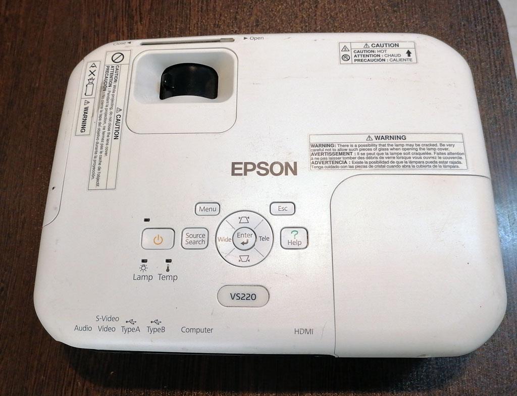 EPSON-PROJECTOR-VS220
